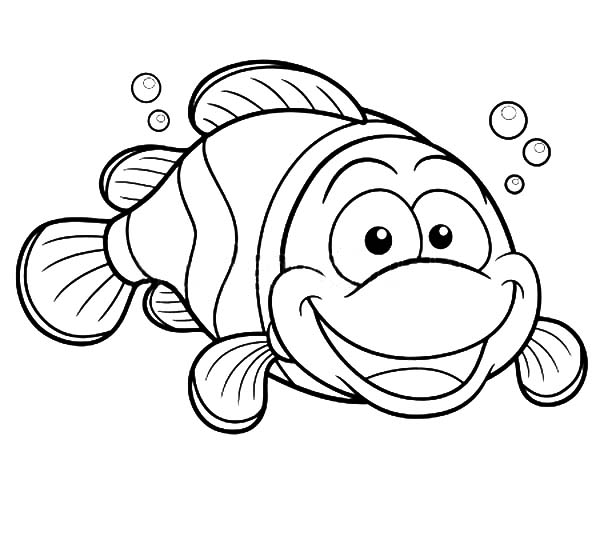happy clown fish coloring pages best place to color