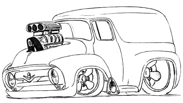 free coloring pages of old chevy blazer modified chevy cars