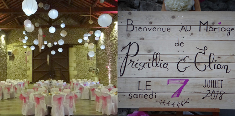 Mariage de Prescillia et Elian