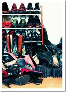Muchos zapatos