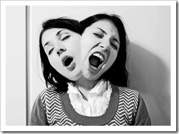 Mujer bipolar, pasando de euforia a depresión