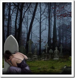 Llorando por un fallecido querido