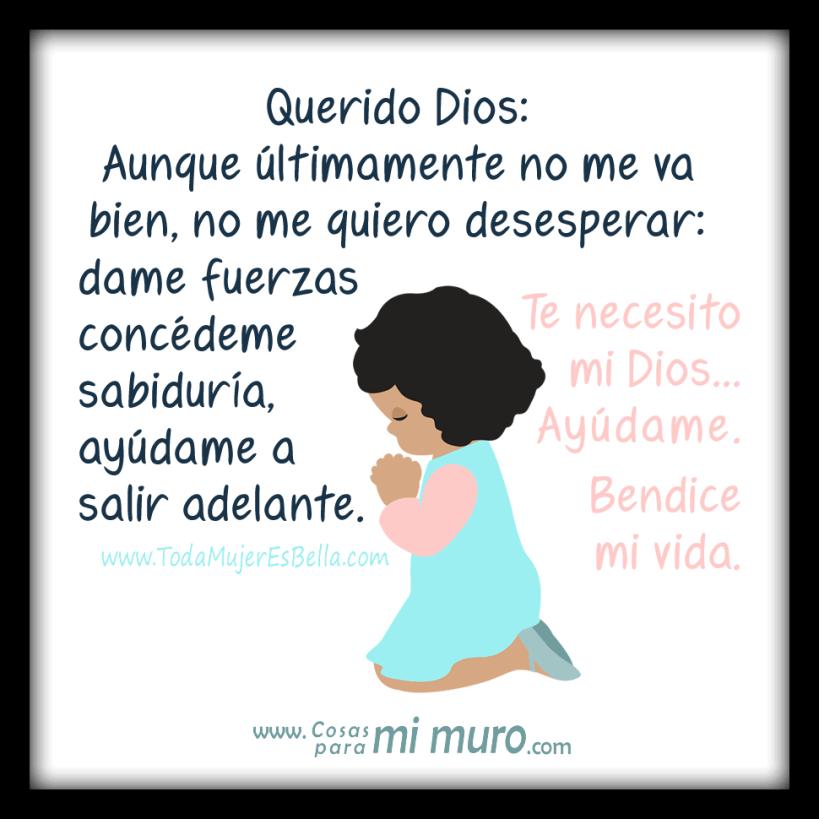 Oración: Ayúdame Dios