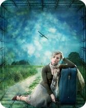viaje al extranjero, avión, pasaje de avión