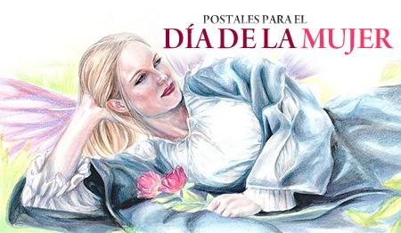 www.shoshan.cl Postales para el Día de la Mujer