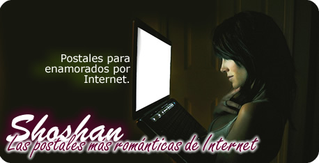 Envía postales de amor por internet, ciber amor.