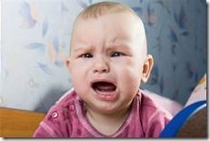 El bebé, la criatura indefensa... ¡sí ya!