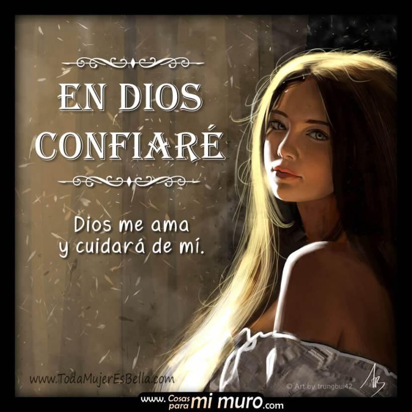 En Dios confiaré: me ama y ayuda