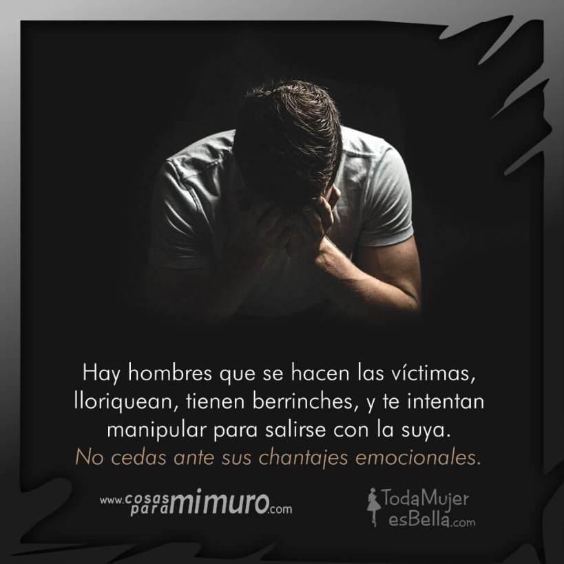 Hombres Que Se Hacen Las Victimas