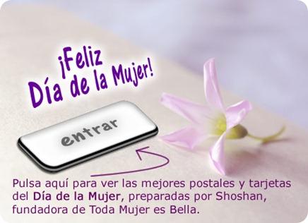 Día de la Mujer, postales, tarjetas, cartas y más