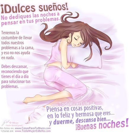 Dulces sueños, buenas noches