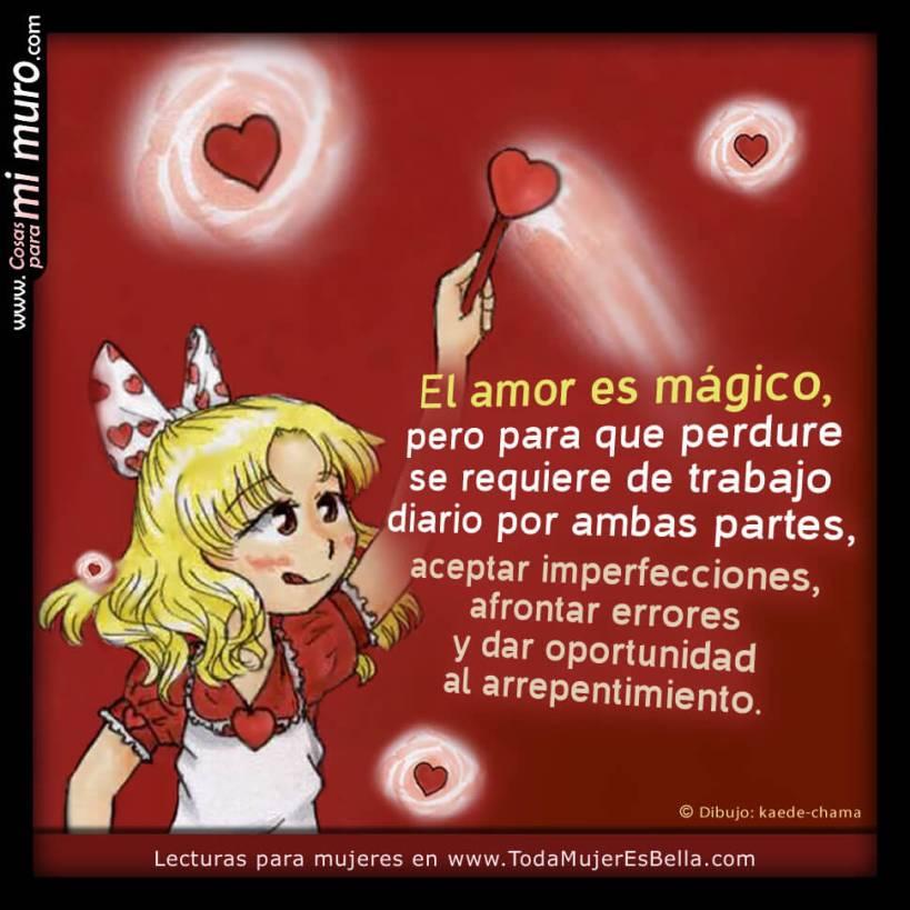 El amor es mágico