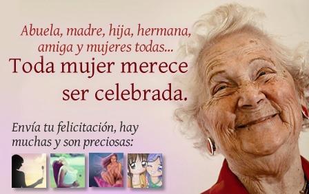 Día Internacional de la Mujer (postales, cartas y saludos)