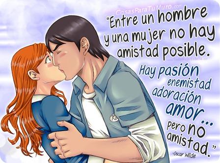 Entre un hombre y una mujer no hay amistad posible