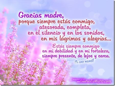Madre, siempre conmigo