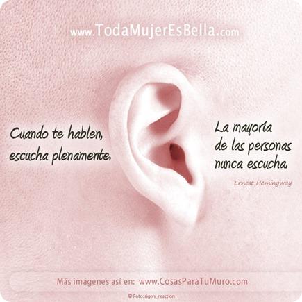 Escucha plenamente