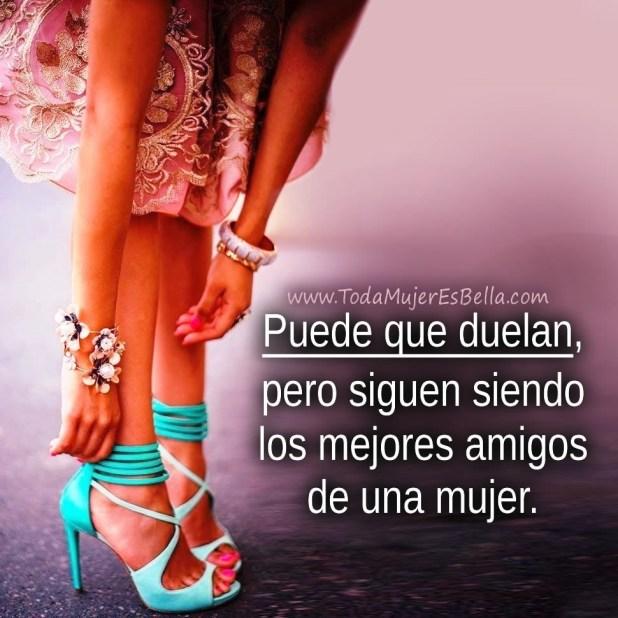 Puede que los zapatos de tacones altos duelan, pero siguen siendo los mejores amigos de una mujer.