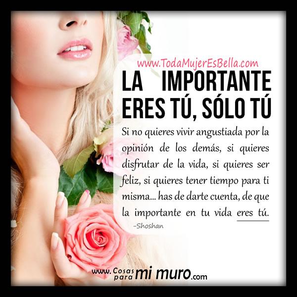 La importante eres tú