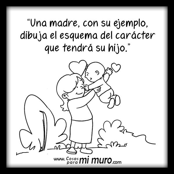 El ejemplo de una madre
