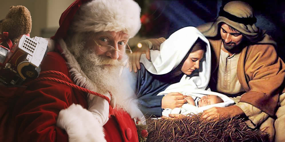 Santa Claus o el Niño Jesús