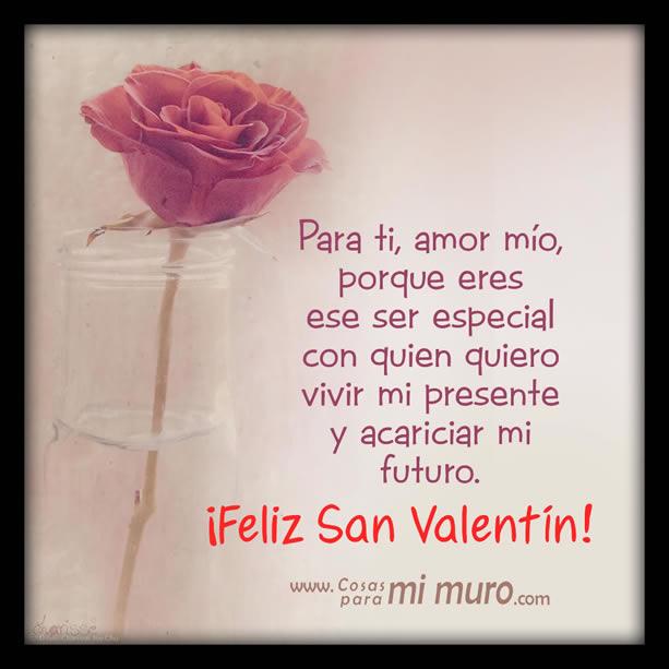 Estas letras son para ti por San Valentín
