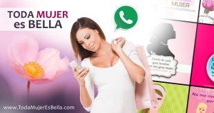 Aplicación app móvil de Toda Mujer es Bella
