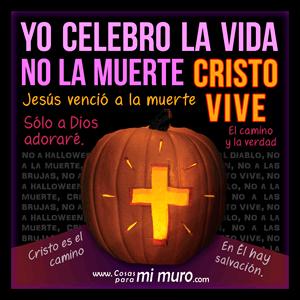 No a Halloween, soy cristiano