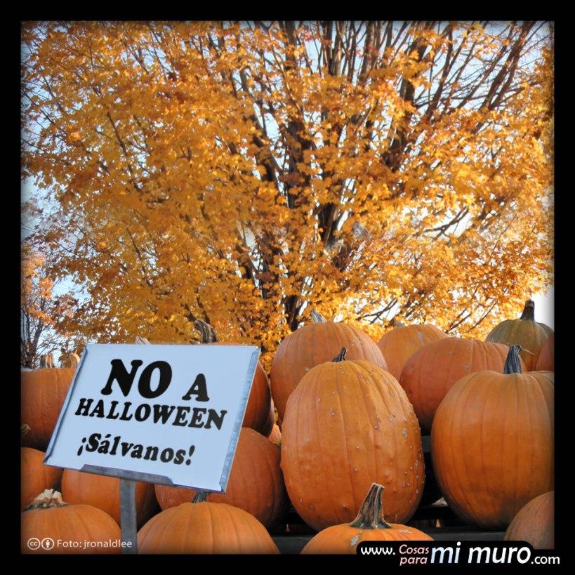 No a Halloween, campaña contra halloween