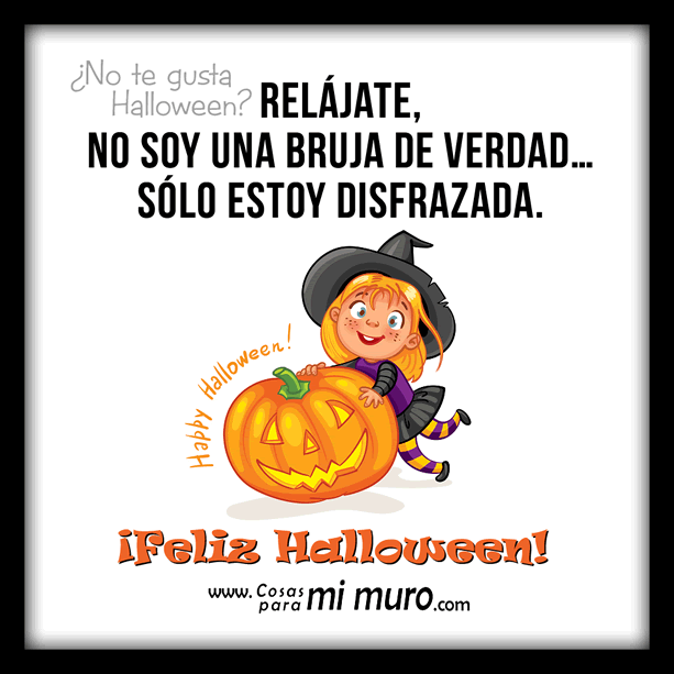 ¿No te gusta Halloween?