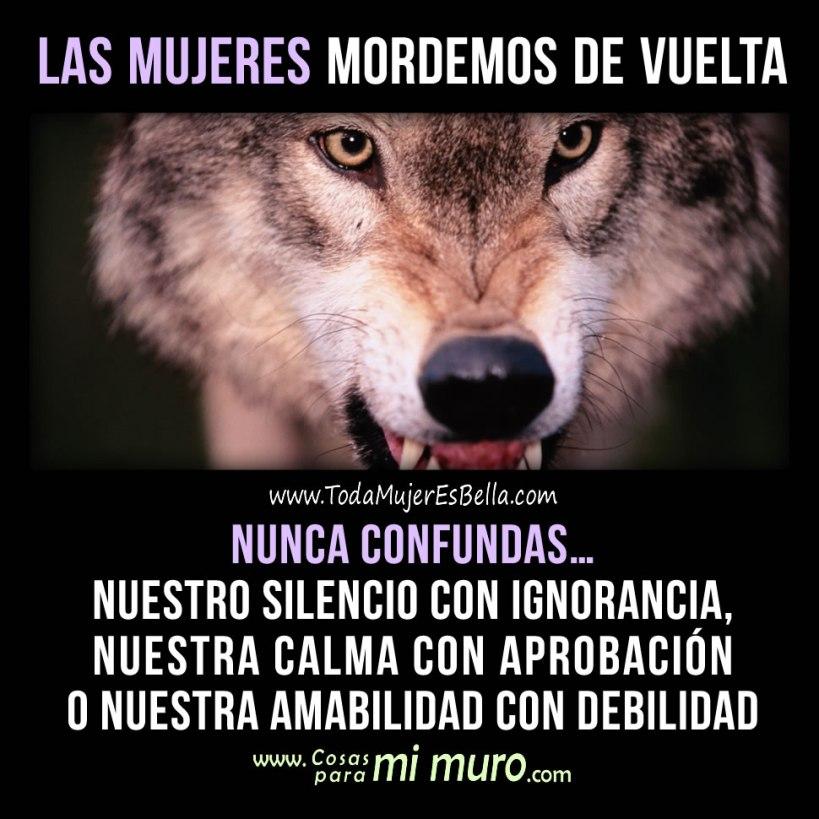 Las mujeres somos lobas