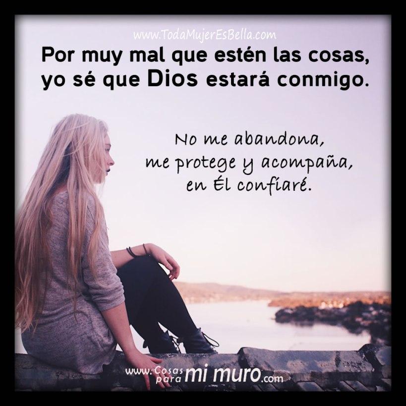 Nunca dejes de confiar en Dios