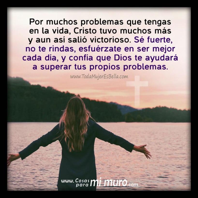 Dios te ayudará con tus problemas