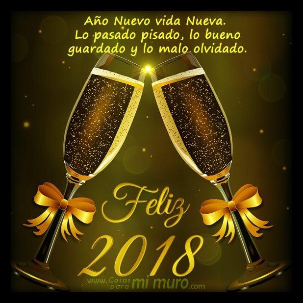 2018: ¡Feliz año nuevo!