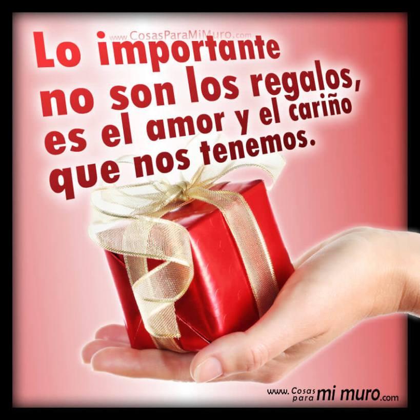 Lo importante no son los regalos