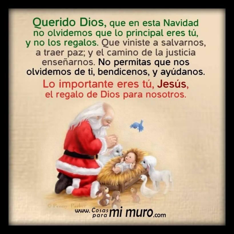 Oración navideña