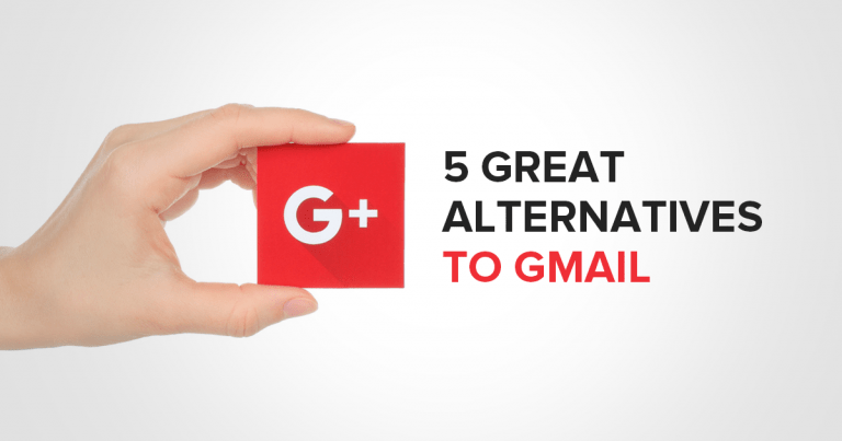 5 Best Alternatives for Gmail-2018