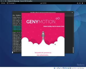 Genymotion install