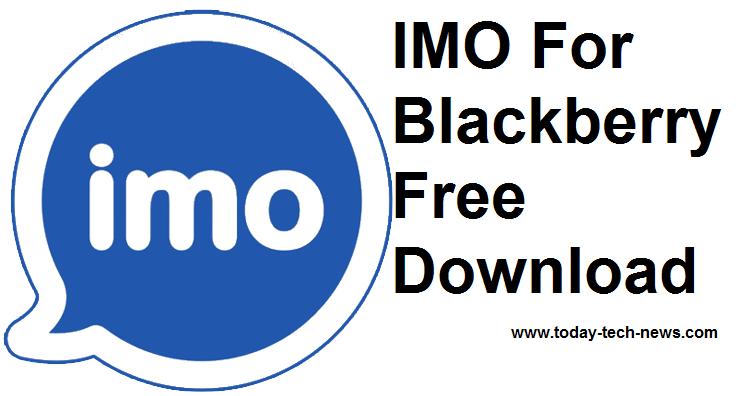 imo pour blackberry gratuit