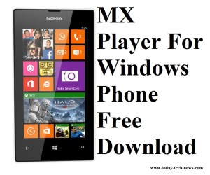 MX Player For Windows Phone