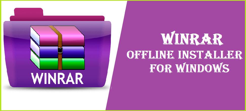 winrar offline installer free
