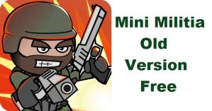mini militia old version