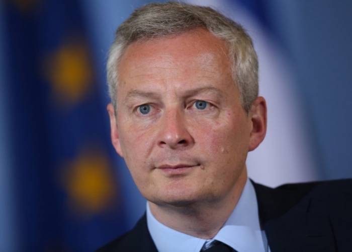 French Economy Minister Bruno Maire
