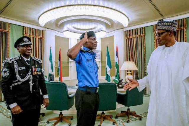 President Muhammadu Buhari has appointed a new Inspector General of Police, Mr. Mohammad Abubakar Adamu-4