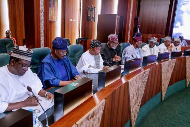 President Buhari presides over National Council of State Meeting in State House on 22nd Jan 2019-3