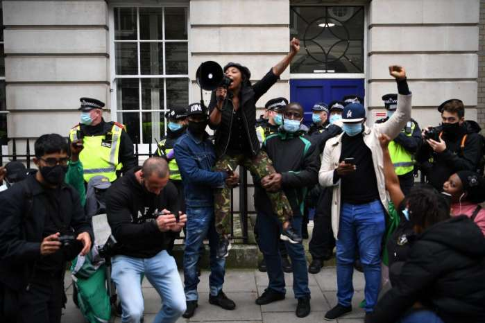 2. Hundreds of Nigerians in Berlin, Germany, and London, the United Kingdom protested against police brutality, extrajudicial killing, and bad governance in their home country.