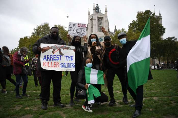 6. Hundreds of Nigerians in Berlin, Germany, and London, the United Kingdom protested against police brutality, extrajudicial killing, and bad governance in their home country.