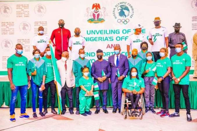 Apparently to encourage the athletes and coaches to put up a strong performance in the forthcoming summer multi-sports events, Minister of Youth and Sports Development, Sunday Dare, has affirmed that Team Nigeria was not in Tokyo 2020 Olympics for 'show', but to win laurels for the country by competing clean.