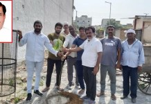 300 saplings planted in villages by the Sanse Campaign, supported by former MLA Tekchand Sharma