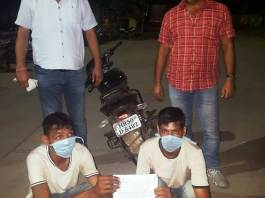 Crime Branch 56 arrested two accused for carrying out snatching and theft