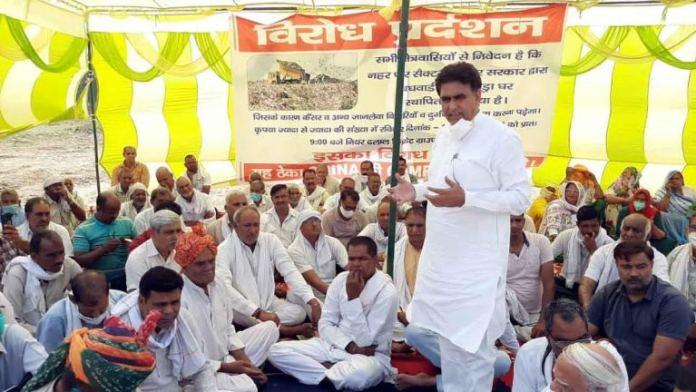 Dumping yard will not be built in Greater Faridabad at any cost Lalit Nagar